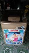 Máy giặt sanyo 7 kg lồng nghiêng